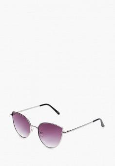 Очки солнцезащитные, Jeepers Peepers, цвет: серебряный. Артикул: JE020DWIWMO5. Аксессуары / Очки