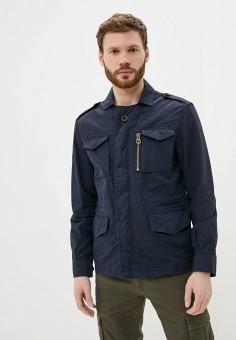 Куртка, J. Hart & Bros, цвет: синий. Артикул: JH001EMJGSM3. Одежда / Верхняя одежда / Легкие куртки и ветровки