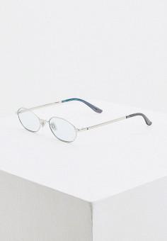Очки солнцезащитные, Jimmy Choo, цвет: серебряный. Артикул: JI002DMHBJP0. Аксессуары