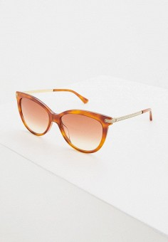 Очки солнцезащитные, Jimmy Choo, цвет: коричневый. Артикул: JI002DWIVEC4. Аксессуары