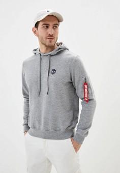 Худи, Jimmy Sanders, цвет: серый. Артикул: JI006EMIQYX8. Одежда / Толстовки и олимпийки / Худи