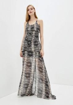 Платье, John Richmond, цвет: серый. Артикул: JO003EWHGZV1. Одежда / Платья и сарафаны / Вечерние платья