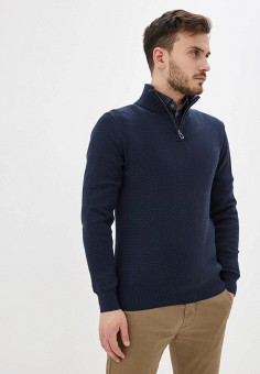 Джемпер, Joop!, цвет: синий. Артикул: JO006EMHRWI9. Одежда / Джемперы, свитеры и кардиганы / Джемперы и пуловеры