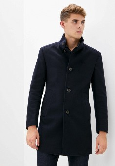 Пальто, Joop!, цвет: синий. Артикул: JO006EMKEVD0. Одежда / Верхняя одежда / Пальто