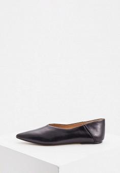 Балетки, Joseph, цвет: черный. Артикул: JO024AWJVFT0. Обувь / Балетки