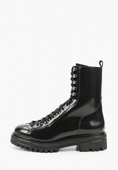 Ботинки, Jonak, цвет: черный. Артикул: JO028AWKDES8. Обувь / Ботинки / Высокие ботинки