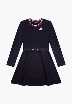 Платье, Junior Republic, цвет: синий. Артикул: JU009EGKLJV0. Девочкам / Одежда / Платья и сарафаны