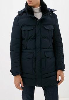 Куртка утепленная, Just Key, цвет: синий. Артикул: JU016EMHCAG2. Одежда / Верхняя одежда / Пуховики и зимние куртки