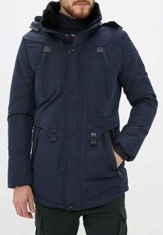 Куртка утепленная, Just Key, цвет: синий. Артикул: JU016EMHIFU4. Одежда / Верхняя одежда / Пуховики и зимние куртки / Зимние куртки