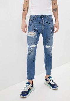 Джинсы, Just Cavalli, цвет: синий. Артикул: JU662EMHXKU6. Одежда / Джинсы