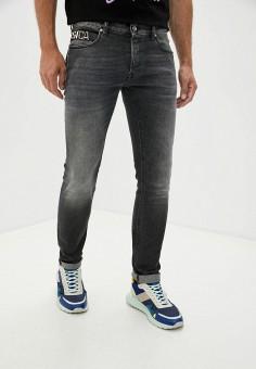Джинсы, Just Cavalli, цвет: черный. Артикул: JU662EMJSAN2. Одежда / Джинсы / Прямые джинсы