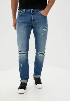 Джинсы, Just Cavalli, цвет: синий. Артикул: JU662EMJSAN5. Одежда / Джинсы / Прямые джинсы