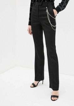 Брюки, Just Cavalli, цвет: черный. Артикул: JU662EWHIAL7. Одежда / Брюки / Классические брюки