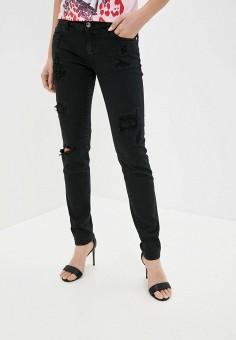 Джинсы, Just Cavalli, цвет: черный. Артикул: JU662EWIZXR4. Одежда / Джинсы / Узкие джинсы