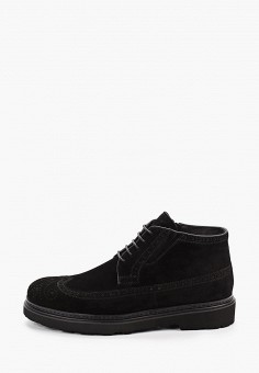 Ботинки, Just Couture, цвет: черный. Артикул: JU663AMFPUU9. Обувь / Ботинки