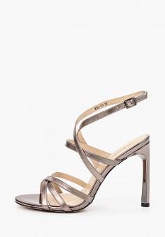 Босоножки, Just Couture, цвет: серый. Артикул: JU663AWHMAU9. Обувь