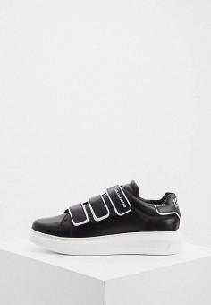Кеды, Karl Lagerfeld, цвет: черный. Артикул: KA025AMICXM6. Обувь / Кроссовки и кеды