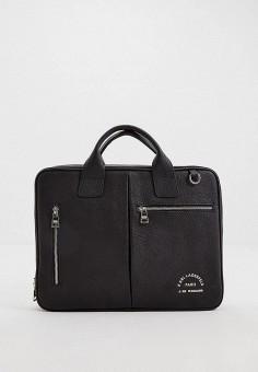 Сумка, Karl Lagerfeld, цвет: черный. Артикул: KA025BMIFFC8. Аксессуары / Сумки