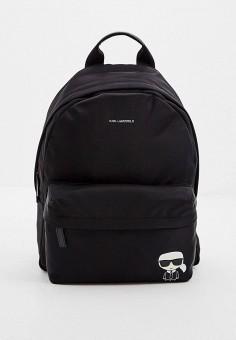 Рюкзак, Karl Lagerfeld, цвет: черный. Артикул: KA025BMIFFD0. Аксессуары / Рюкзаки