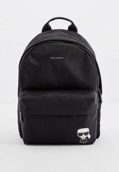 Рюкзак, Karl Lagerfeld, цвет: черный. Артикул: KA025BWHVEB9. Аксессуары / Рюкзаки
