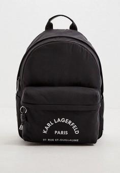 Рюкзак, Karl Lagerfeld, цвет: черный. Артикул: KA025BWHVEH2. Аксессуары / Рюкзаки