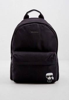 Рюкзак, Karl Lagerfeld, цвет: черный. Артикул: KA025BWJSKA5. Аксессуары / Рюкзаки