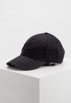 Бейсболка, Karl Lagerfeld, цвет: черный. Артикул: KA025CWJSKG9. Аксессуары / Головные уборы