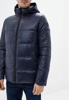 Куртка утепленная, Karl Lagerfeld, цвет: синий. Артикул: KA025EMFHNV8. Одежда / Верхняя одежда / Пуховики и зимние куртки / Зимние куртки