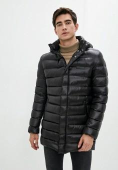 Пуховик, Karl Lagerfeld, цвет: черный. Артикул: KA025EMJXNE8. Одежда / Верхняя одежда / Пуховики и зимние куртки