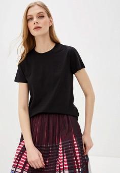 Футболка, Karl Lagerfeld, цвет: черный. Артикул: KA025EWHEWR5. Одежда / Футболки и поло