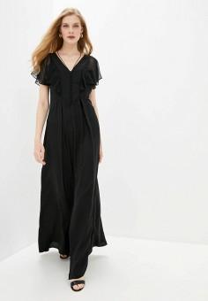 Платье, Karl Lagerfeld, цвет: черный. Артикул: KA025EWHEXJ6. Одежда / Платья и сарафаны / Вечерние платья