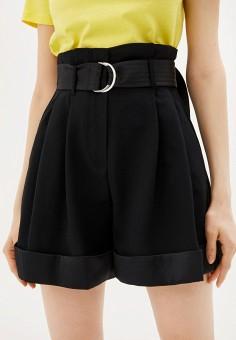 Шорты, Karl Lagerfeld, цвет: черный. Артикул: KA025EWHEXL3. Одежда / Шорты
