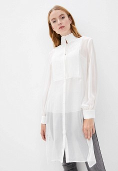 Туника, Karl Lagerfeld, цвет: белый. Артикул: KA025EWJSJO2. Одежда / Туники