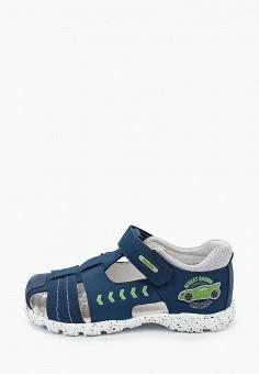 Сандалии, Kapika, цвет: синий. Артикул: KA040ABJBUN7. Мальчикам / Обувь