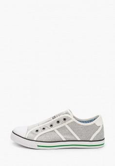Кеды, Kapika, цвет: серый. Артикул: KA040ABJBUV0. Мальчикам / Обувь