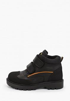 Ботинки, Kapika, цвет: черный. Артикул: KA040ABJWVJ9. Мальчикам / Обувь / Ботинки
