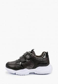 Кроссовки, Kapika, цвет: черный. Артикул: KA040AGJWUU4. Девочкам / Обувь
