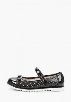 Туфли, Kapika, цвет: черный. Артикул: KA040AGJWUU6. Девочкам / Обувь