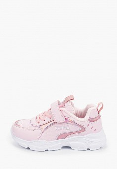 Кроссовки, Kenk?, цвет: розовый. Артикул: KE009AGIBHF7. Девочкам / Обувь