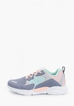 Кроссовки, Kenk?, цвет: серый. Артикул: KE009AGIQKQ8. Девочкам / Обувь
