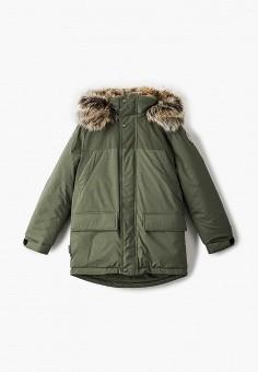 Куртка утепленная, Kerry, цвет: хаки. Артикул: KE014EBJYGG2. Мальчикам / Одежда / Верхняя одежда