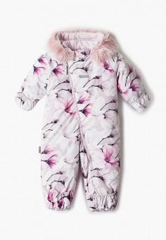 Комбинезон утепленный, Kerry, цвет: розовый. Артикул: KE014EGJYFY9. Девочкам / Одежда / Верхняя одежда
