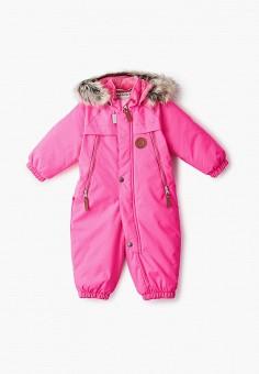 Комбинезон утепленный, Kerry, цвет: розовый. Артикул: KE014EGJYFZ2. Девочкам / Одежда / Верхняя одежда