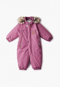 Комбинезон утепленный, Kerry, цвет: розовый. Артикул: KE014EGJYFZ4. Девочкам / Одежда / Верхняя одежда