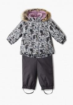Костюм утепленный, Kerry, цвет: мультиколор, серый. Артикул: KE014EGJYGA3. Девочкам / Одежда / Верхняя одежда