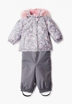 Костюм утепленный, Kerry, цвет: серый. Артикул: KE014EGJYGB1. Девочкам / Одежда / Верхняя одежда
