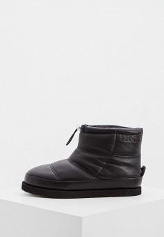 Полусапоги, Kenzo, цвет: черный. Артикул: KE228AWFTAH2. Обувь / Сапоги / Угги и унты