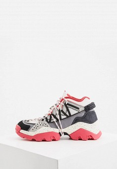 Кроссовки, Kenzo, цвет: серый. Артикул: KE228AWIPOK5. Premium
