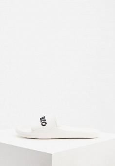 Сланцы, Kenzo, цвет: белый. Артикул: KE228AWJRWM2. Обувь / Резиновая обувь