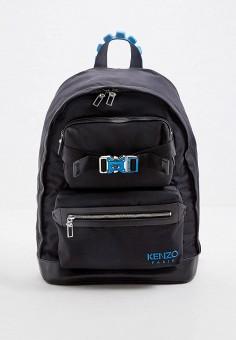 Рюкзак, Kenzo, цвет: черный. Артикул: KE228BMHRXI3. Аксессуары / Рюкзаки